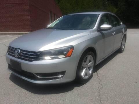 2012 Volkswagen Passat for sale at Georgia Fine Motors Inc. in Buford GA