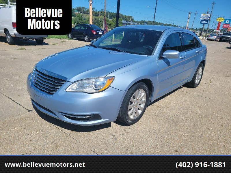 2013 Chrysler 200 for sale at Bellevue Motors in Bellevue NE