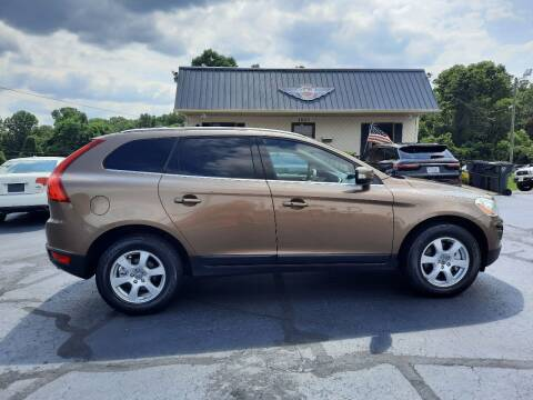 2011 Volvo XC60 for sale at G AND J MOTORS in Elkin NC