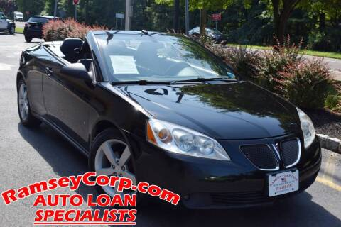 2008 Pontiac G6 for sale at Ramsey Corp. in West Milford NJ