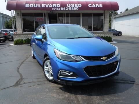 2017 Chevrolet Cruze for sale at Boulevard Used Cars in Grand Haven MI