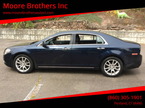 2011 Chevrolet Malibu for sale at Moore Brothers Inc in Portland CT