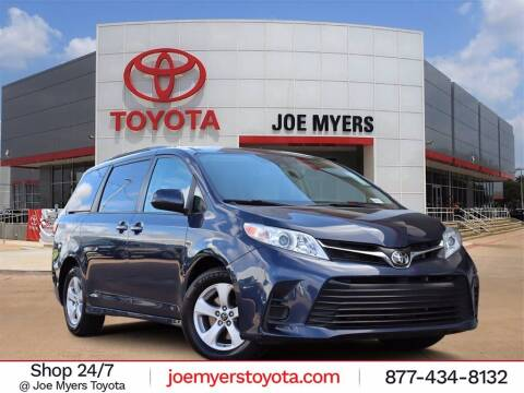 2020 Toyota Sienna for sale at Joe Myers Toyota PreOwned in Houston TX
