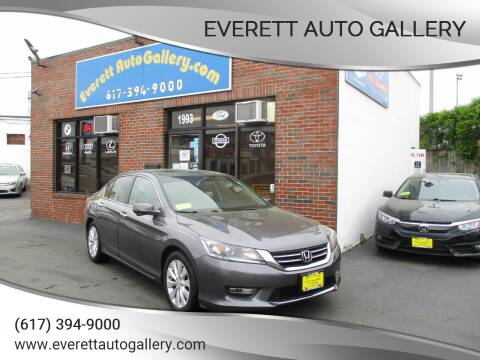 2013 Honda Accord for sale at Everett Auto Gallery in Everett MA