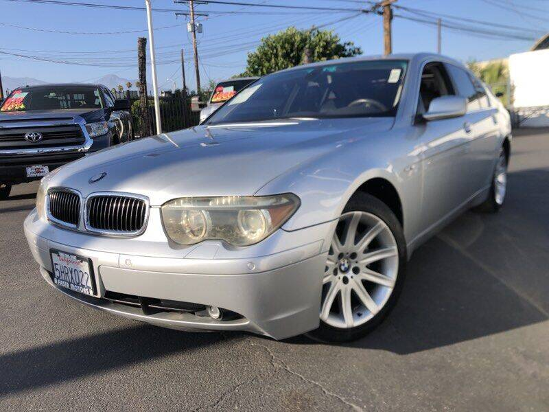 Used 2004 Bmw 7 Series For Sale Carsforsale Com