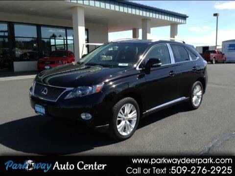2012 Lexus RX 450h for sale at PARKWAY AUTO CENTER AND RV in Deer Park WA