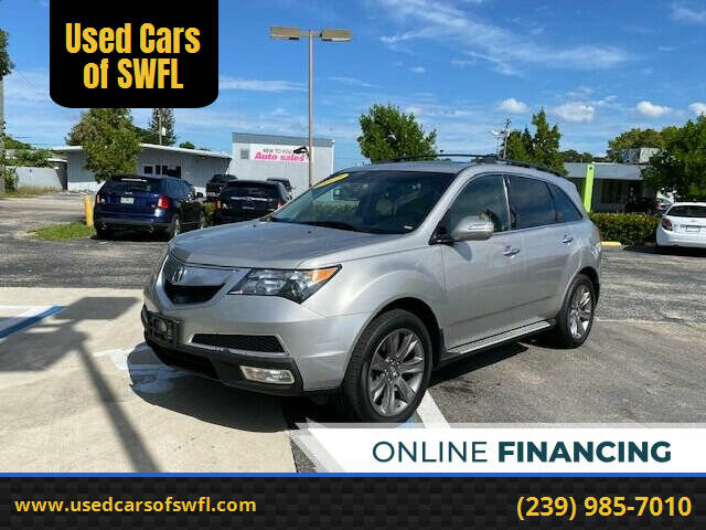 2012 Acura MDX for sale at Used Cars of SWFL in Fort Myers FL