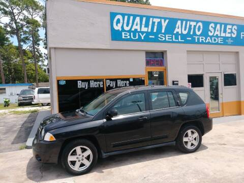 2010 Jeep Compass for sale at QUALITY AUTO SALES OF FLORIDA in New Port Richey FL