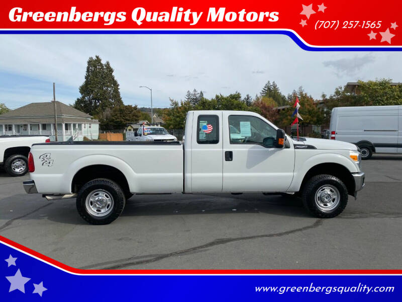 2016 Ford F-250 Super Duty for sale at Greenbergs Quality Motors in Napa CA