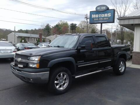 2005 Chevrolet Silverado 1500 for sale at Route 106 Motors in East Bridgewater MA