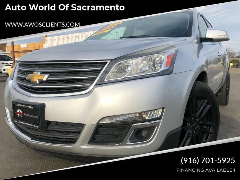 2014 Chevrolet Traverse for sale at Auto World of Sacramento Stockton Blvd in Sacramento CA