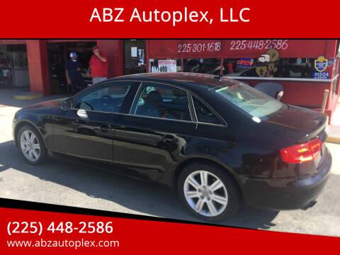 2009 Audi A4 for sale at ABZ Autoplex, LLC in Baton Rouge LA