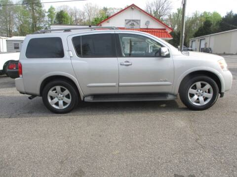 2008 Nissan Armada for sale at Hickory Wholesale Cars Inc in Newton NC