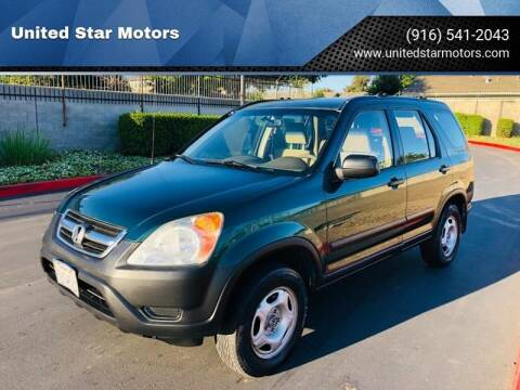 2004 Honda CR-V for sale at United Star Motors in Sacramento CA