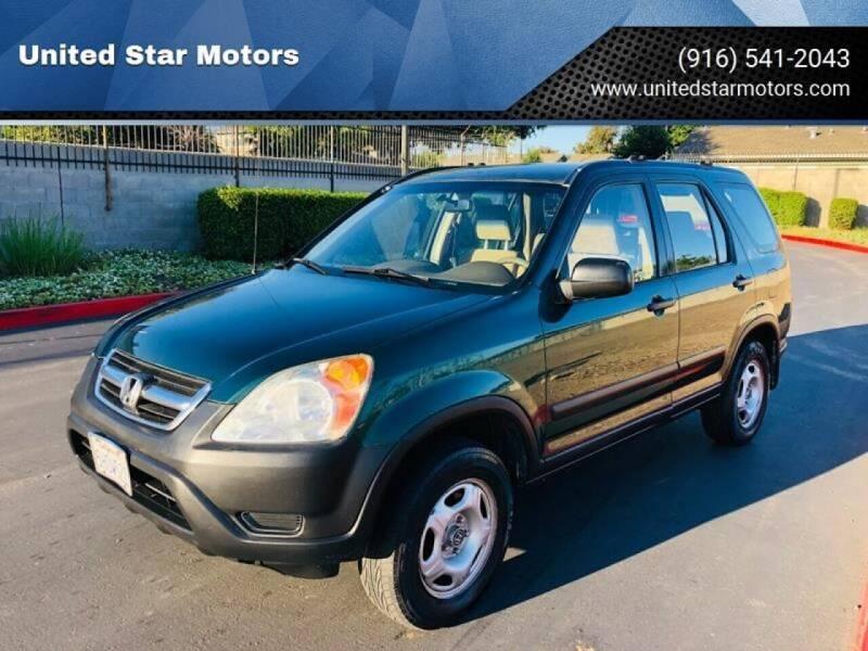 2004 Honda CR-V for sale at United Star Motors in Sacramento CA