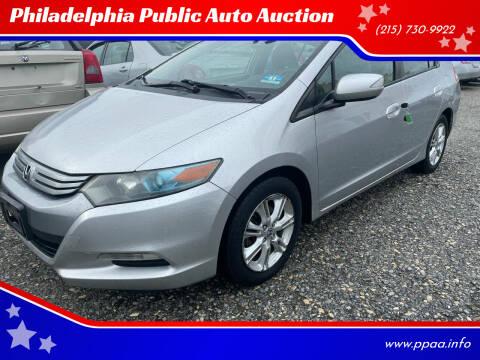 2010 Honda Insight for sale at Philadelphia Public Auto Auction in Philadelphia PA