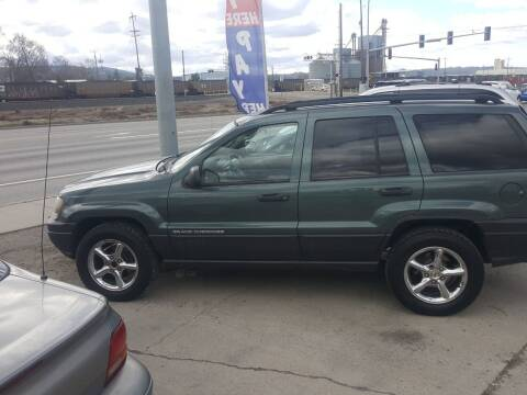 2003 Jeep Grand Cherokee for sale at Direct Auto Sales+ in Spokane Valley WA
