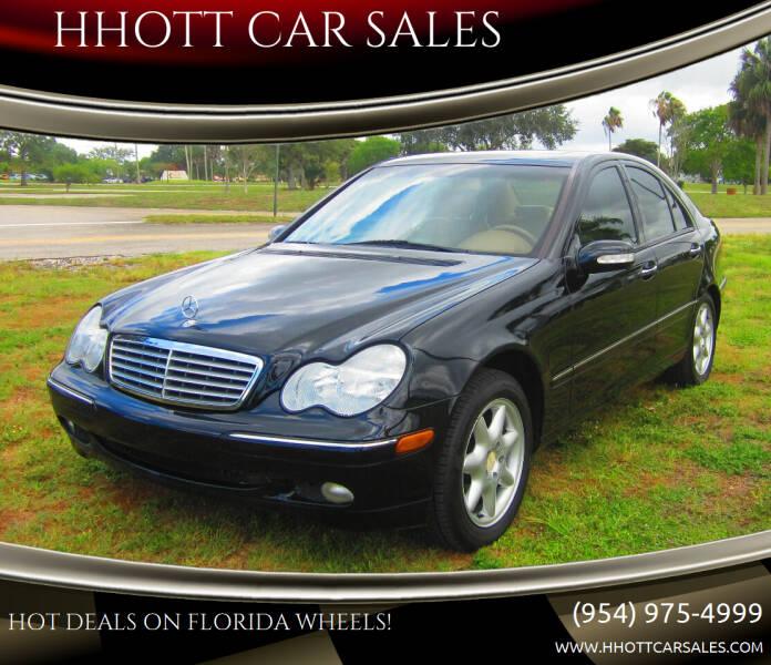 2001 Mercedes-Benz C-Class for sale at HHOTT CAR SALES in Deerfield Beach FL