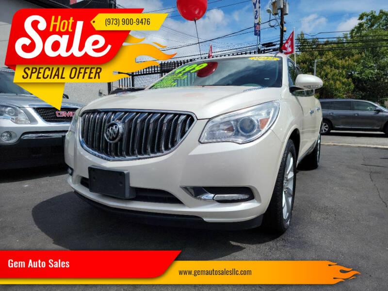 2015 Buick Enclave for sale at Gem Auto Sales in Irvington NJ