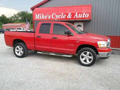 2006 Dodge Ram Pickup 1500 for sale at MIKE'S CYCLE & AUTO in Connersville IN
