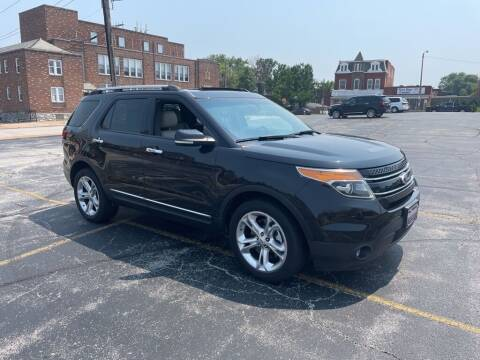 2013 Ford Explorer for sale at DC Auto Sales Inc in Saint Louis MO