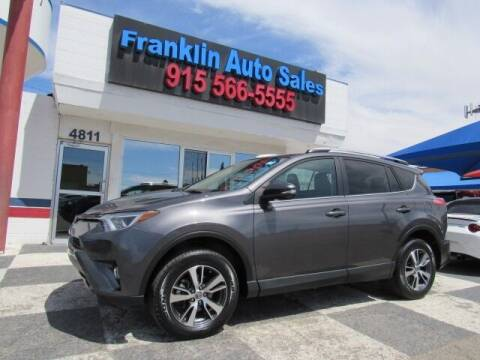 2018 Toyota RAV4 for sale at Franklin Auto Sales in El Paso TX