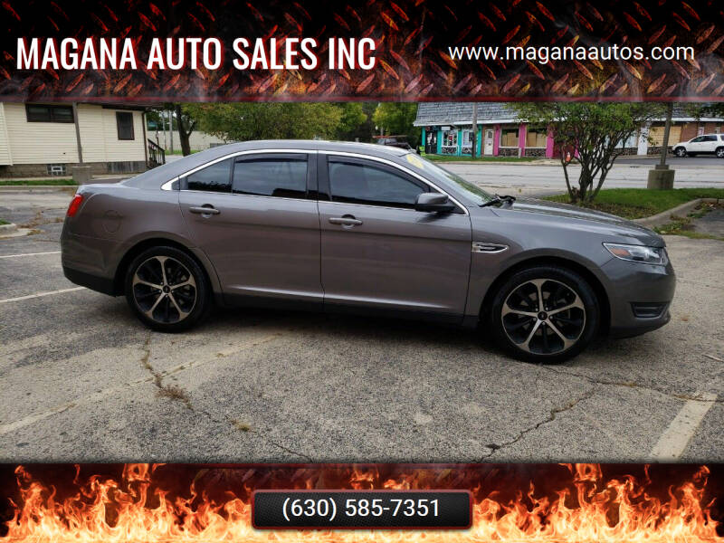 2014 Ford Taurus for sale at Magana Auto Sales Inc in Aurora IL
