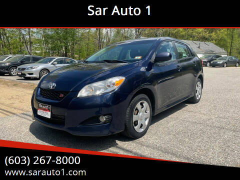 2010 Toyota Matrix for sale at Sar Auto 1 in Belmont NH