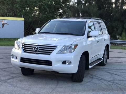 2010 Lexus LX 570 for sale at Exclusive Impex Inc in Davie FL