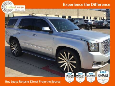 2015 GMC Yukon for sale at Dallas Auto Finance in Dallas TX