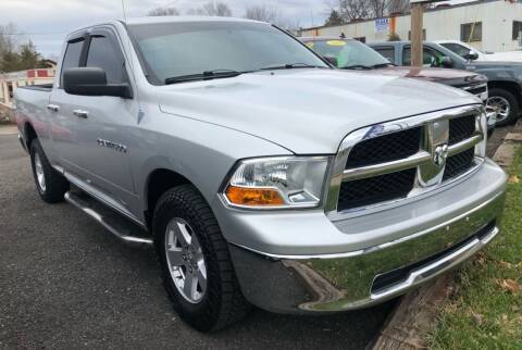 2012 RAM Ram Pickup 1500 for sale at Mayer Motors of Pennsburg in Pennsburg PA