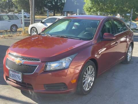 2013 Chevrolet Cruze for sale at River City Auto Sales Inc in West Sacramento CA