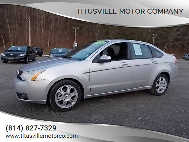 2009 Ford Focus for sale at Titusville Motor Company in Titusville PA