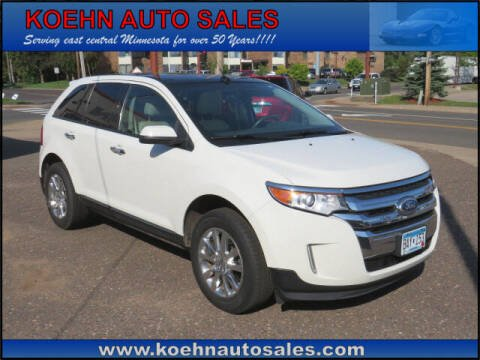2011 Ford Edge for sale at Koehn Auto Sales in Lindstrom MN