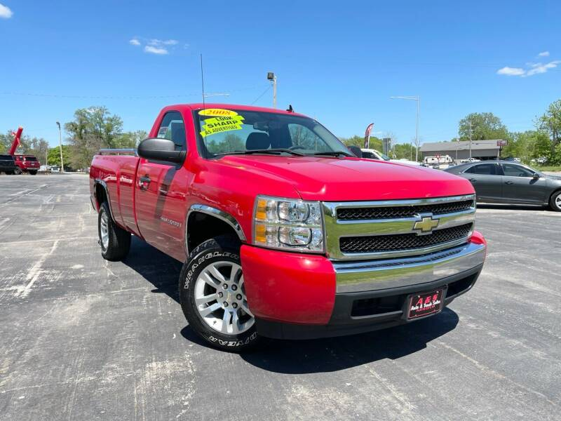 2008 Chevrolet Silverado 1500 for sale at A & S Auto and Truck Sales in Platte City MO