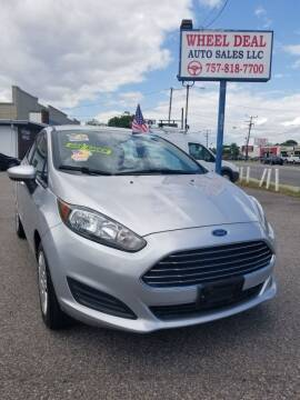 2015 Ford Fiesta for sale at Wheel Deal Auto Sales LLC in Norfolk VA