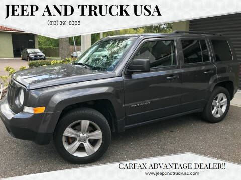 2016 Jeep Patriot for sale at Jeep and Truck USA in Tampa FL