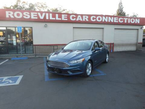 2018 Ford Fusion Hybrid for sale at ROSEVILLE CAR CONNECTION in Roseville CA