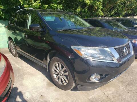 2013 Nissan Pathfinder for sale at Track One Auto Sales in Orlando FL