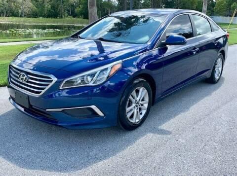 2016 Hyundai Sonata for sale at CLEAR SKY AUTO GROUP LLC in Land O Lakes FL