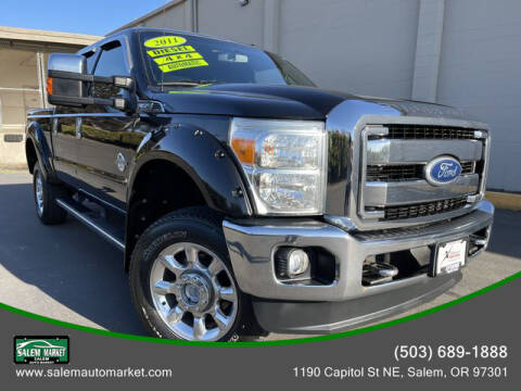 2011 Ford F-350 Super Duty for sale at Salem Auto Market in Salem OR