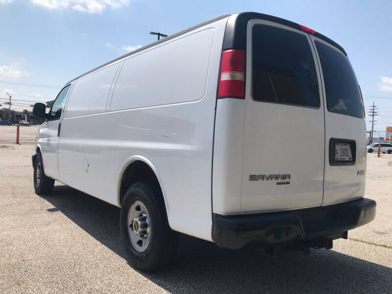 2012 GMC Savana Cargo 3500 3dr Extended Cargo Van w/ 1WT - Cleveland OH