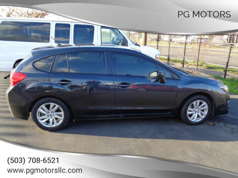 2016 Subaru Impreza for sale at PG Motors in Portland OR
