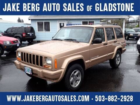 1999 Jeep Cherokee for sale at Jake Berg Auto Sales in Gladstone OR