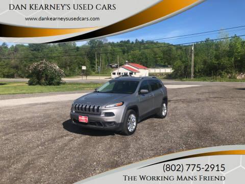2015 Jeep Cherokee for sale at DAN KEARNEY'S USED CARS in Center Rutland VT