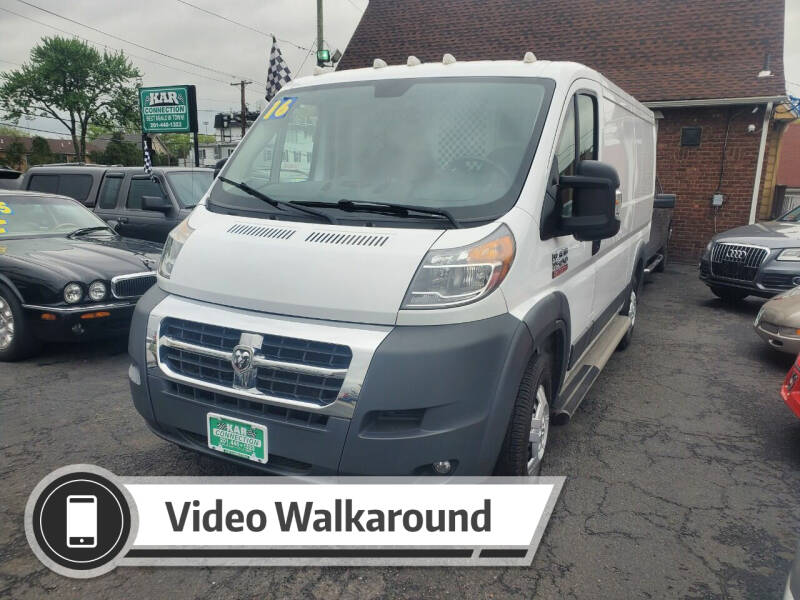 2016 RAM ProMaster Cargo for sale at Kar Connection in Little Ferry NJ