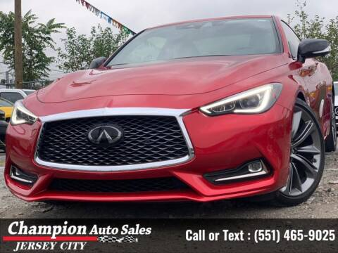 2020 Infiniti Q60 for sale at CHAMPION AUTO SALES OF JERSEY CITY in Jersey City NJ