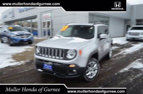 2017 Jeep Renegade for sale at RDM CAR BUYING EXPERIENCE in Gurnee IL