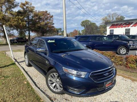 2017 Ford Taurus for sale at Beach Auto Brokers in Norfolk VA