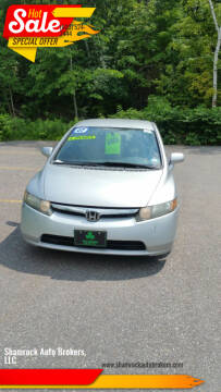 2007 Honda Civic for sale at Shamrock Auto Brokers, LLC in Belmont NH